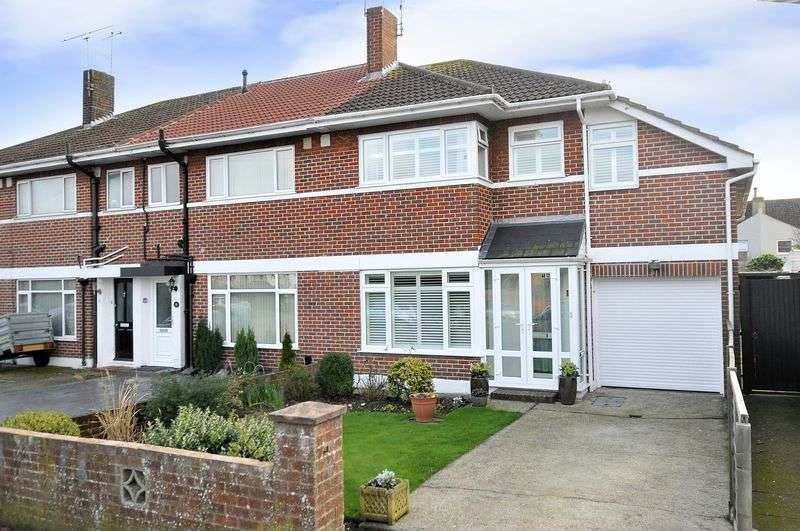 4 Bedrooms Terraced House for sale in Guildford Road, Worthing
