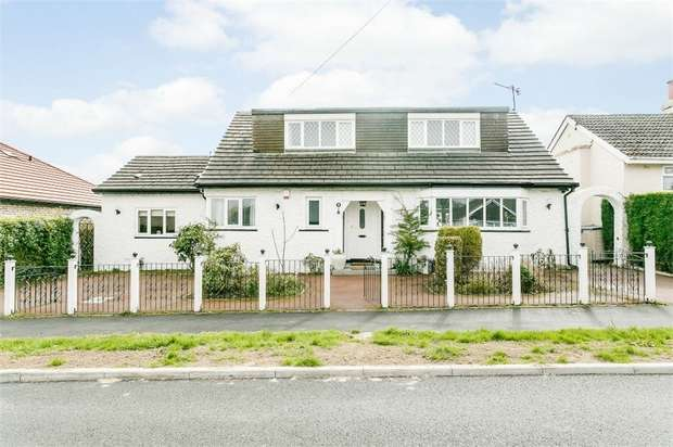 4 Bedrooms Detached Bungalow for sale in The Quadrant, Sheffield, South Yorkshire