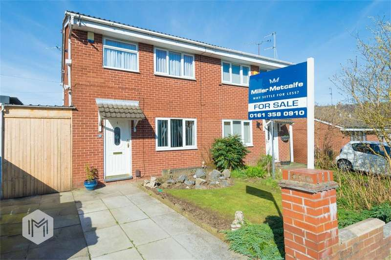 3 Bedrooms Semi Detached House for sale in Hill Street, Radcliffe, Manchester, Lancashire