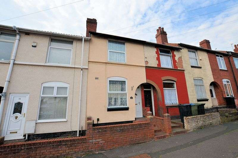 2 Bedrooms Terraced House for sale in Oakwood Road, Smethwick