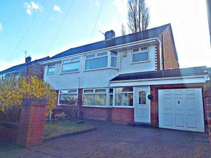 3 Bedrooms Semi Detached House for sale in Grangeside, Woolton, Liverpool, Merseyside, L25