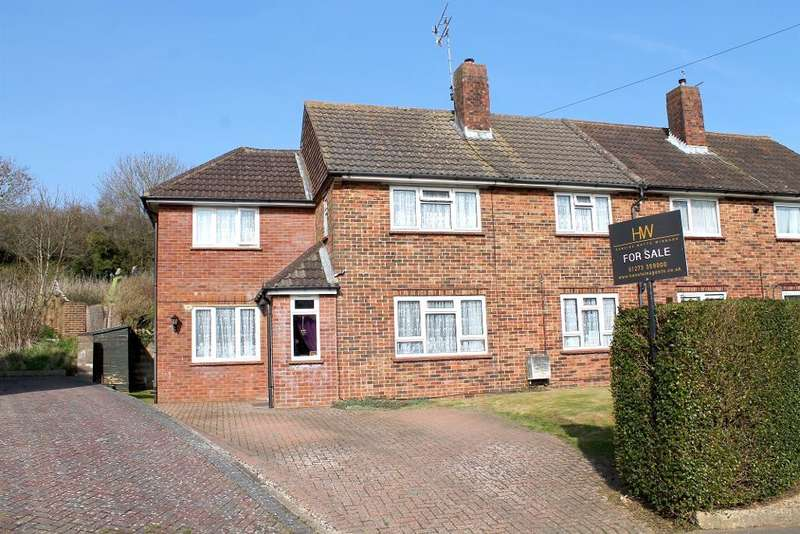 4 Bedrooms Semi Detached House for sale in Bodiam Close, Brighton, East Sussex, BN2 4LP