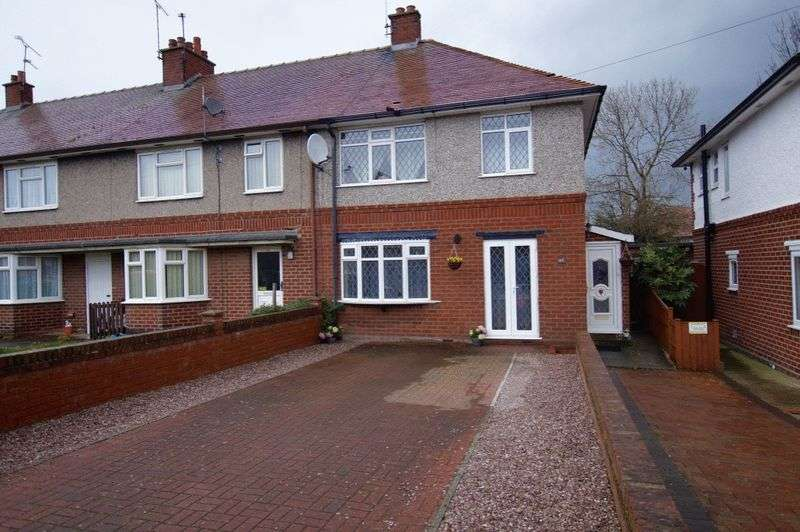 3 Bedrooms Semi Detached House for sale in Kingsmills Road, Wrexham