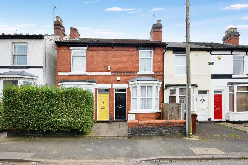 2 Bedrooms Terraced House for sale in Westbourne Road, Penn, Wolverhampton WV4