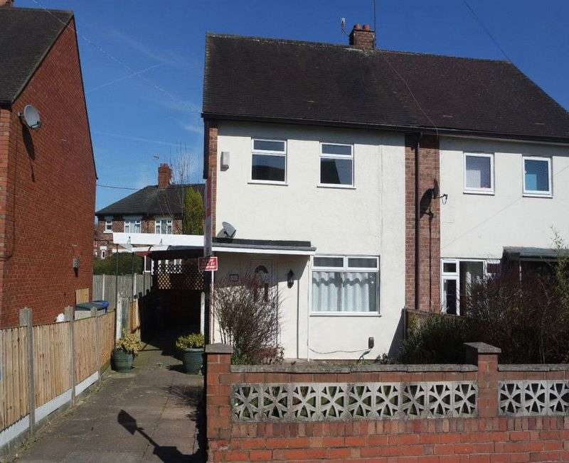 3 Bedrooms Semi Detached House for sale in Carrick Place, Hanford, Stoke-On-Trent, ST4 8RN