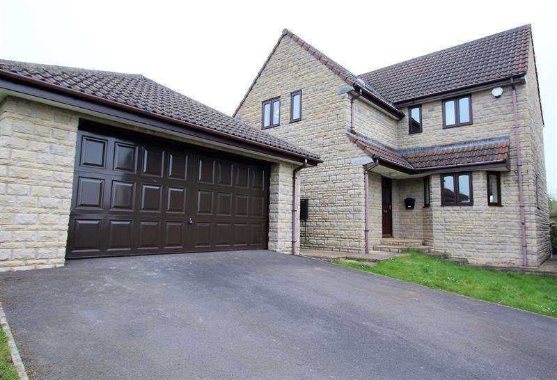 5 Bedrooms Detached House for sale in Top Wood, Holcombe, Radstock