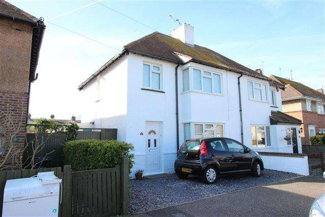 3 Bedrooms Semi Detached House for sale in Mardale Road, Worthing, West Sussex, BN13 2AY