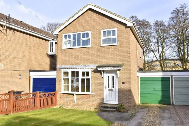 3 Bedrooms Detached House for sale in Nesfield Close, Harrogate