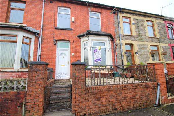 4 Bedrooms Terraced House for sale in Glynfach rd, Glynfach, Porth