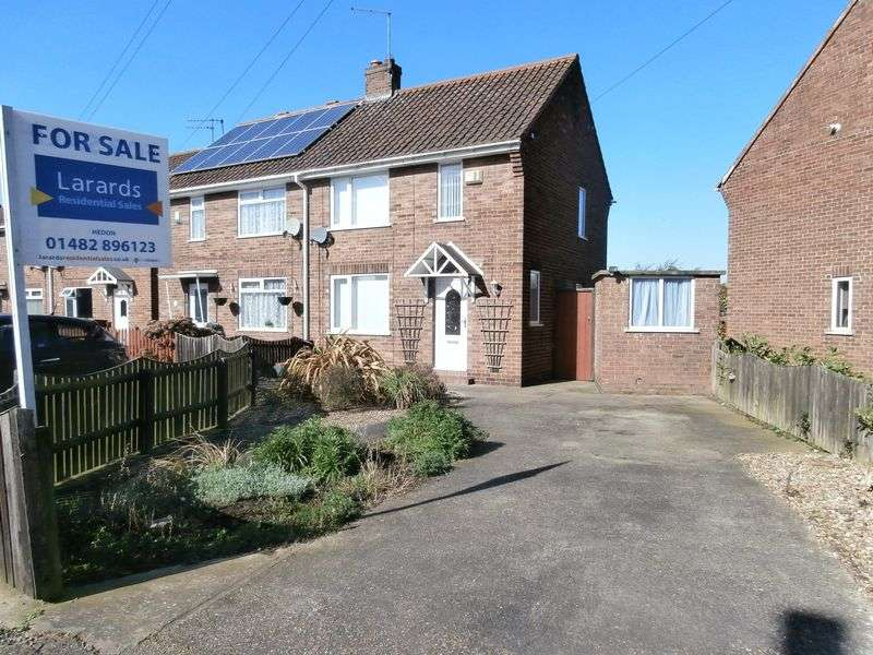 2 Bedrooms Semi Detached House for sale in Hales Crescent, Hedon,