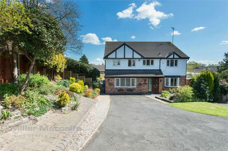 5 Bedrooms Detached House for sale in Falconwood Chase, Worsley, Manchester