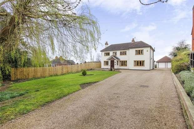 4 Bedrooms Detached House for sale in Nethergate, Westwoodside, Doncaster, Lincolnshire