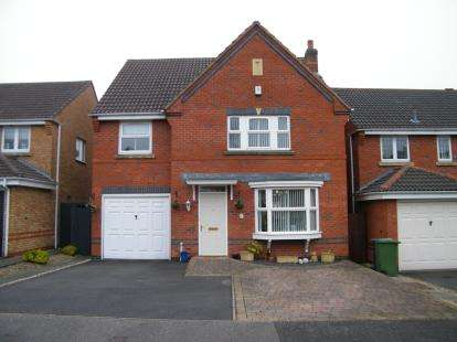 4 Bedrooms Detached House for sale in Bulrush Close, Brownhills, Walsall