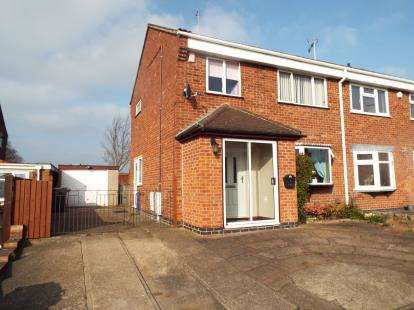 3 Bedrooms Semi Detached House for sale in Chappell Close, Thurmaston, Leicester, Leicestershire