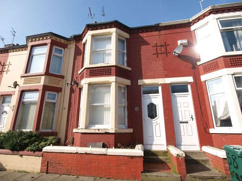 3 Bedrooms Terraced House for sale in Grasville Road, Tranmere