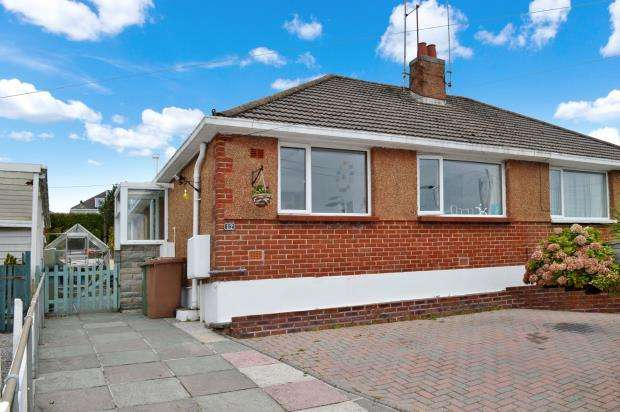 2 Bedrooms Semi Detached Bungalow for sale in Green Park Road, Plymouth, Devon