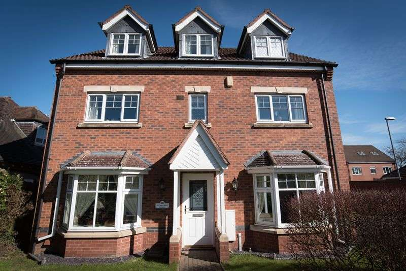 5 Bedrooms Detached House for sale in Lea Green Drive, Wythall