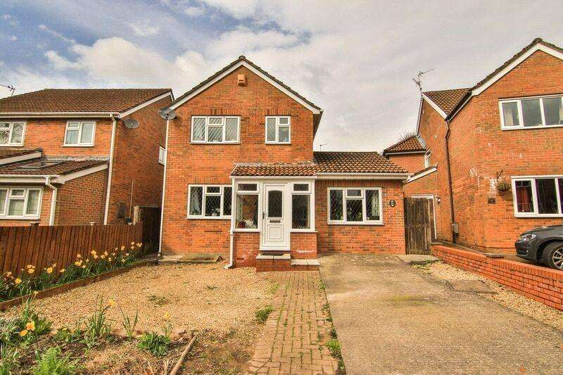 3 Bedrooms Detached House for sale in Cherrywood Close, Thornhill, Cardiff, CF14