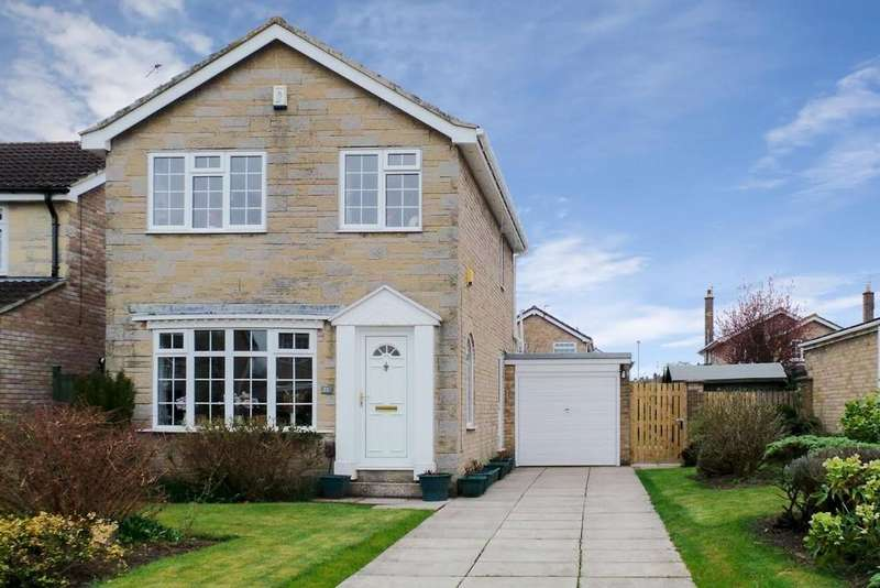 3 Bedrooms Detached House for sale in 23 BADGERWOOD GLADE, WETHERBY, LS22 7XR