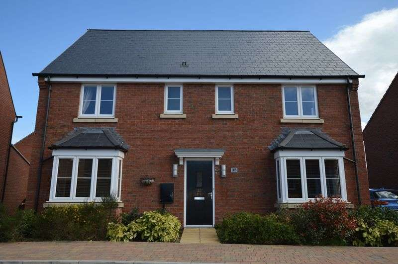 4 Bedrooms Detached House for sale in Blackburn Way, West Wick, Weston-Super-Mare