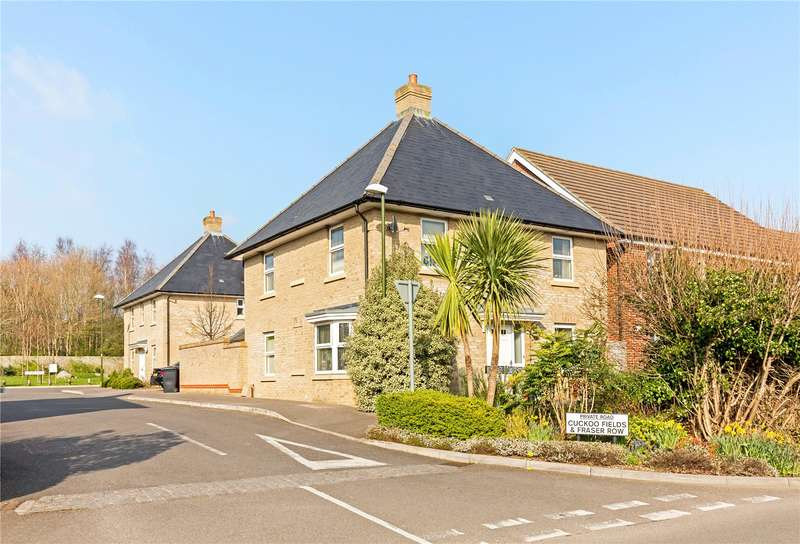 4 Bedrooms Detached House for sale in Fraser Row, Fishbourne, Chichester, West Sussex, PO18