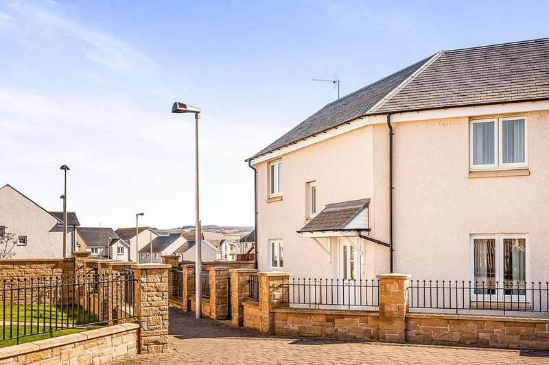 3 Bedrooms Semi Detached House for sale in Saw Mill Court, Bonnyrigg, EH19