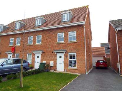 3 Bedrooms End Of Terrace House for sale in Hazelmere Avenue, Buckshaw Village, Chorley, Lancashire, PR7