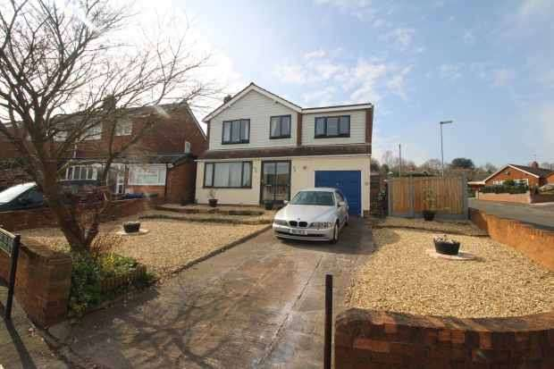 4 Bedrooms Detached House for sale in Cherry Tree Road, Rugeley, Staffordshire, WS15 1AY