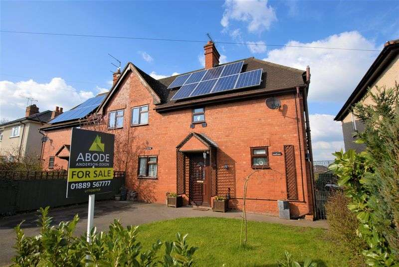 3 Bedrooms Semi Detached House for sale in Manor Road, Uttoxeter