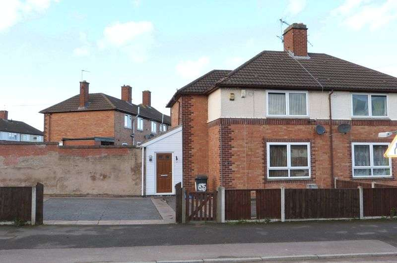 2 Bedrooms Semi Detached House for sale in Bendbow Rise, Braunstone