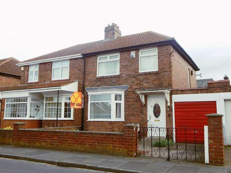 3 Bedrooms Semi Detached House for sale in Tynedale Avenue, Kings Estate, Wallsend, NE28