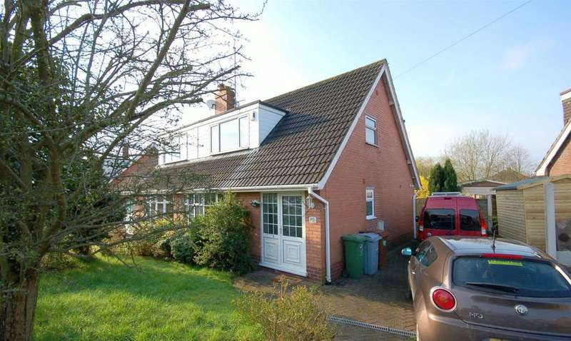 3 Bedrooms Semi Detached House for sale in Heath Avenue, Rode Heath