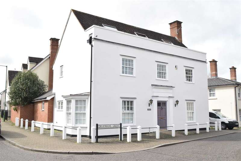 5 Bedrooms Detached House for sale in Draymans Grove, Great Notley, Braintree