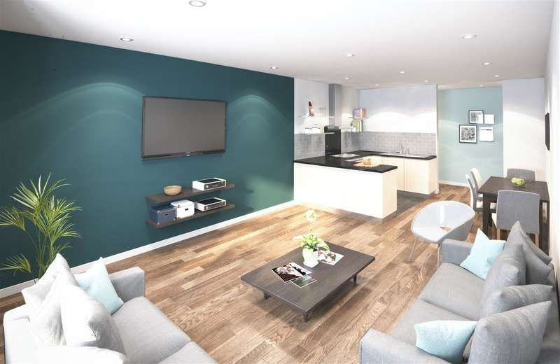 1 Bedroom Apartment Flat for sale in Studio/Cluster/En-suite flats for sale, Fox St, Liverpool, L3
