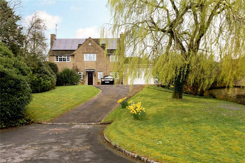 4 Bedrooms Detached House for sale in Downs Way, Baunton, Cirencester, Gloucestershire, GL7