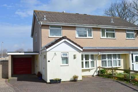 3 Bedrooms Semi Detached House for sale in Worle Court, Worle, Weston-Super-Mare