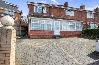 5 Bedrooms End Of Terrace House for sale in Drews Lane, Ward End, Birmingham, West Midlands