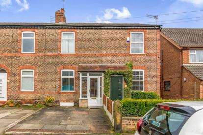 2 Bedrooms Terraced House for sale in Victoria Road, Sale Moor, Sale, Greater Manchester