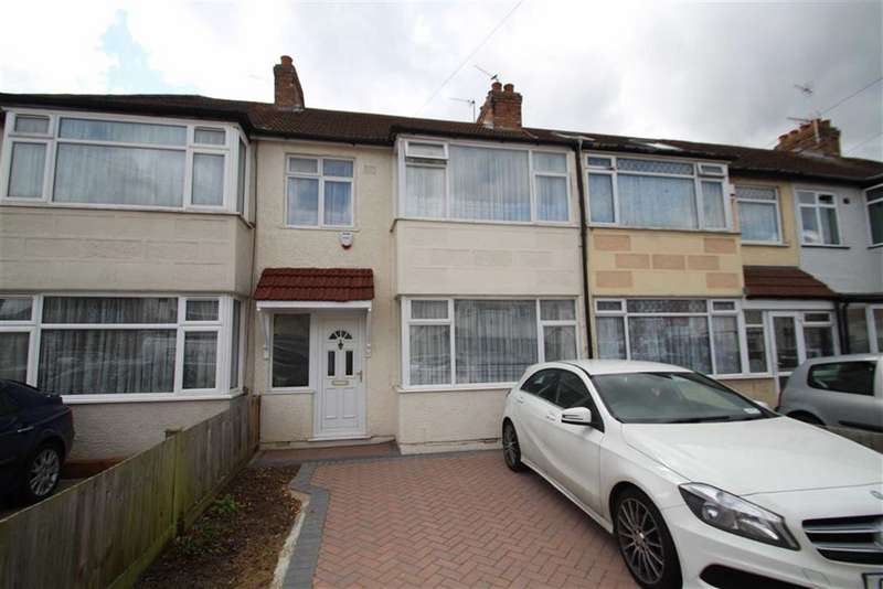 3 Bedrooms Terraced House for sale in Floriston Avenue, Hillingdon, Middlesex