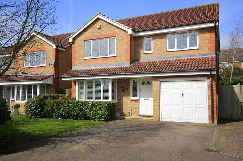 4 Bedrooms Detached House for sale in 4 BED DETACHED WITH 2 ENSUITES IN HALSEY PARK , HP1