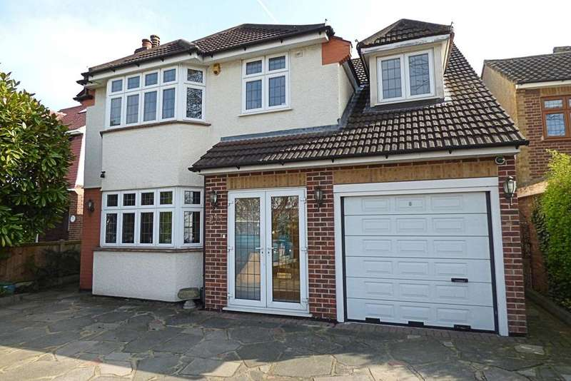 4 Bedrooms Detached House for sale in Corbets Tey Road, Upminster RM14