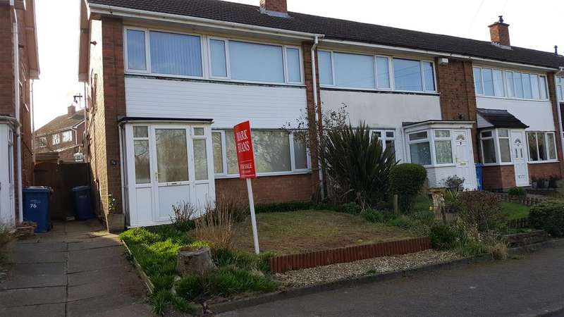 3 Bedrooms Semi Detached House for sale in Moor Lane, Bolehall, Tamworth