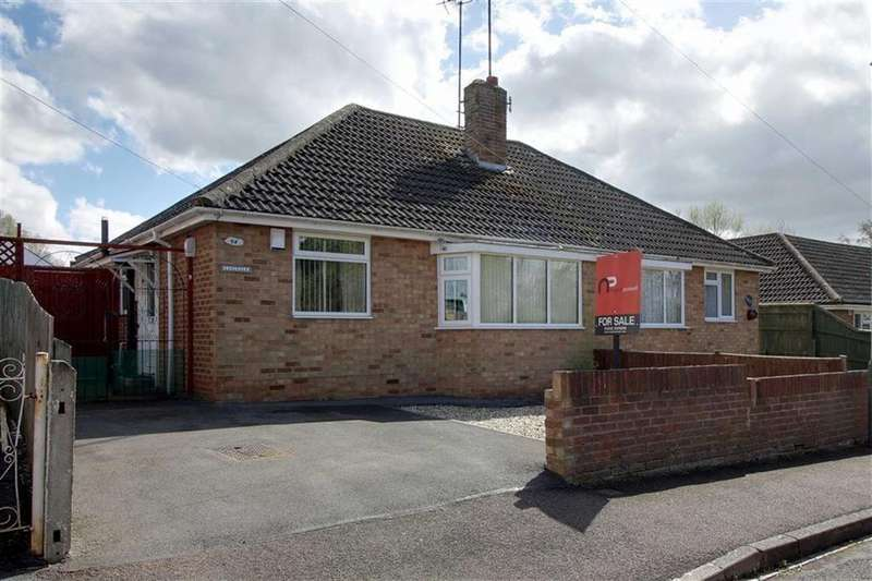 2 Bedrooms Semi Detached Bungalow for sale in Langdale Road, Cheltenham, Gloucestershire