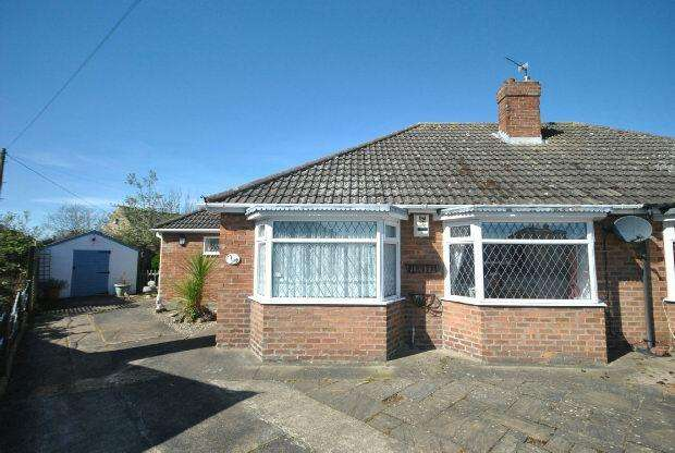 3 Bedrooms Semi Detached Bungalow for sale in Southern Walk, GRIMSBY
