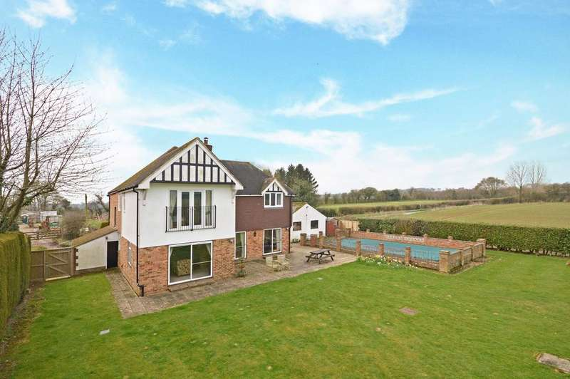 5 Bedrooms Detached House for sale in Boughton Aluph, TN25