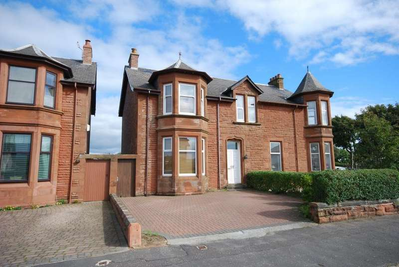 4 Bedrooms Semi-detached Villa House for sale in 59 Bentinck Drive, Troon, KA10 6HY