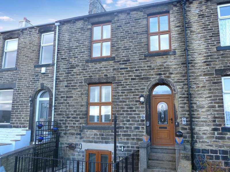 3 Bedrooms Terraced House for sale in South View, Farnhill