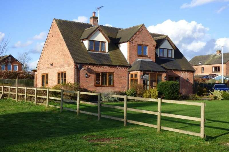 4 Bedrooms Detached House for sale in Pump Lane, Doveridge, Ashbourne, DE6 5LX