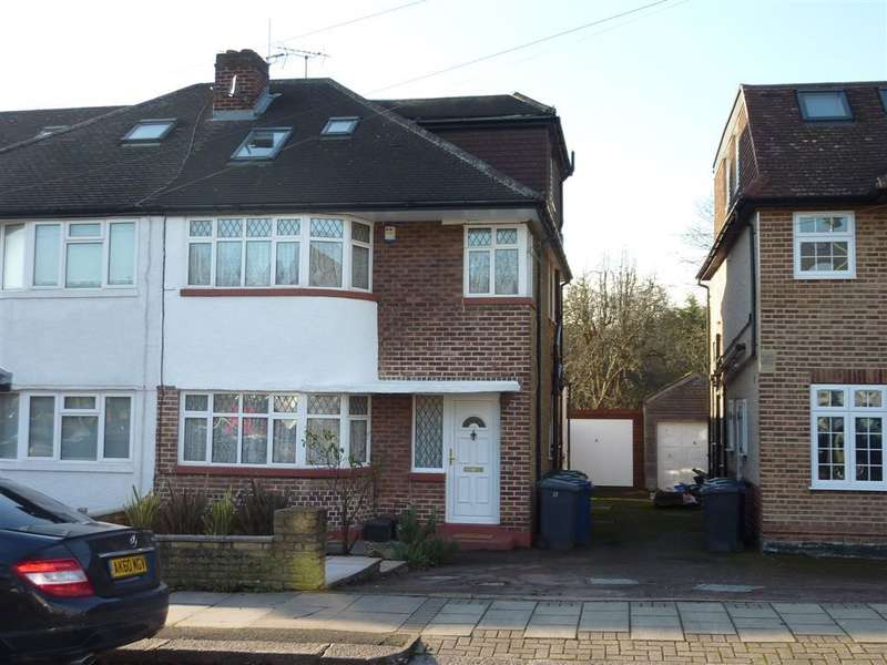 4 Bedrooms Semi Detached House for sale in MARLBOROUGH AVENUE, EDGWARE