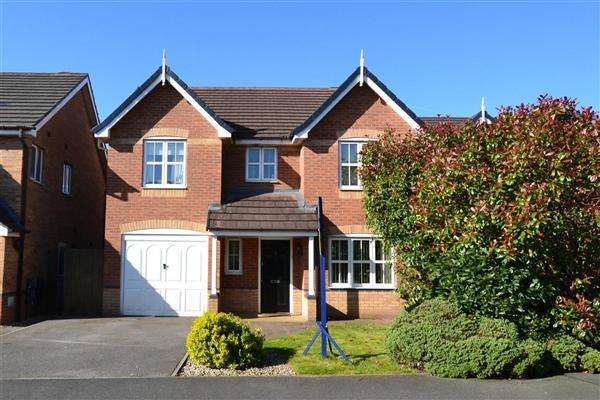 4 Bedrooms Detached House for sale in Morano Drive, Platt Bridge